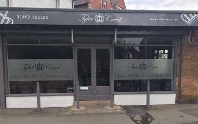 Tyler Creed Hair Salon Signage ….